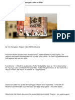Muslim Scholars Recast Ibn Taymiyyahs Fatwa on Jihad