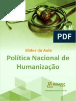 Sus Politica Nacional de Humanizacao eBook