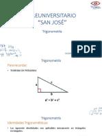 Sesión 11_Trigonometría