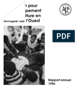 AfricaRice Rapport annuel 1996