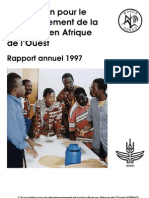 AfricaRice Rapport annuel 1997
