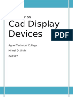 CAD Display Devices