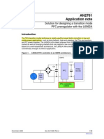 Solution for designing a transition mode PFC preregulator with the L6562A