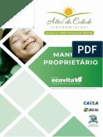 Manual Do Proprietario Pedro Ferreira Modelo Ecovita