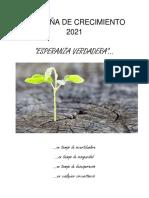 Campaña de Crecimiento 2021