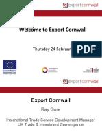 """Stop being so British!"" - Export Cornwall breakfast event"