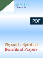 Benefits of Prayers