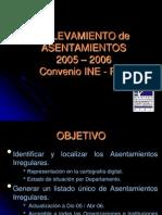 Relevamiento INE-PIAI asentamientos en Uruguay