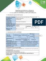 Guía de actividades y rúbrica de evaluación - Tarea 1 - Identificar fuentes de contaminación y sus impactos (1)