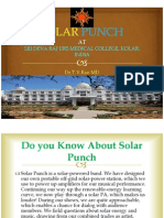 SOLAR PUNCH - SAVE THE PLANET