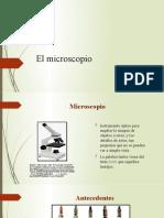 Microscopio.