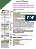 Calendar i o Escola r