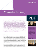 Personal Manufacturing and the Rise of 3D Printing