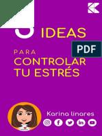 MINI eBook 5 Ideas Para Controlar El Estrés