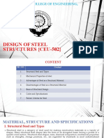 1. Material, Structures and Specifications