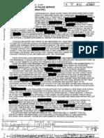 Simone's Police Reports