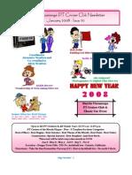 Newsletter 20 - January 2008
