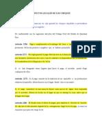 ASPECTOS LEGALES DE LOS CHEQUES