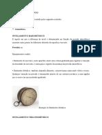 TIPOS DE NIVELAMENTOTRABALHO