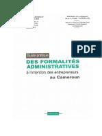Guide Pratique Des Formalités Administratives à l'Intention Des Entrepreneurs Au Cameroun_4