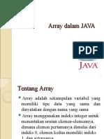Pertemuan 04 - Array Dalam Java File 2013-04!19!101609 Ibnu Utomo w.m. s.kom