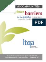 LTQA - Innovative Communities Report