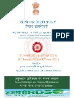 Latest Vendor directory signed