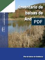 Inventario de balsas Andalucía