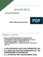 Droit Marocain de la concurrence 3 2020-2021