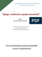 Avila presentación de Javier Romeu