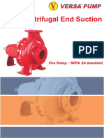 Centrifugal End Suction Firepump NFPA 20
