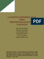 La política informal en el Perú