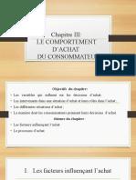 LE COMPORTEMENT D'ACHAT