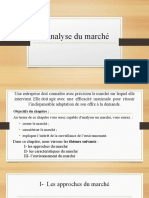 L Analyse Du Marché