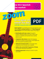KS3 Zoom español Course Guide