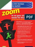 KS3 Zoom Deutsch Course Guide