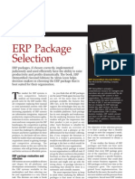 ERP Package Selection