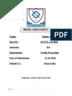 HU Assignment(Roll#56)
