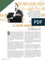 Albeniz Suite Espagnola Saggio