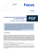 Le cycle d'innovation pharmaceutique