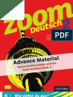 KS3 Zoom Deutsch Student Book 2 sample