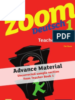 KS3 Zoom Deutsch Teacher Book 1 sample