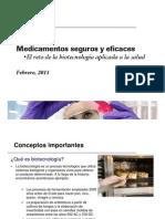 Presentación-Medicamentos Biotecnologicos