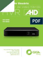 Manual Gravador Hibrido de Video Gs08hd Rev02
