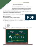 Ecuación de primer y segundo grado