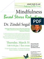 Mindfulness Based Stress Reduction
