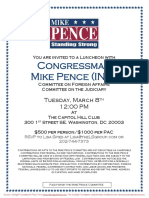 Luncheon for Mike Pence