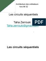 Cours Les Circuits Séquentiels (Architecture Des Ordinateurs)