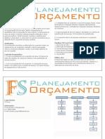 Curso Orçamentos - FS ORC e PLAN