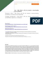 Cidades Na Pandemia Comunicação,Sociabilidade